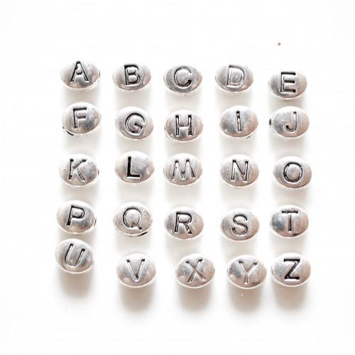 22 Letras para cuero redondo