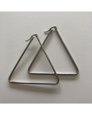 Pendientes triángulo de acero