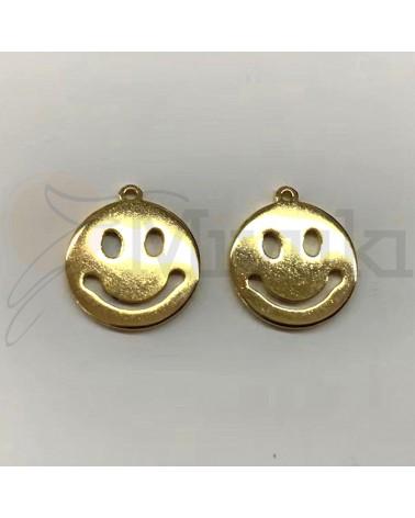 Smiley acero dorado